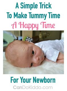 Does your baby hate Tummy Time? Learn tips and activities from CanDo Kiddo