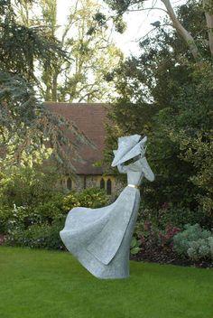 Philip Jackson Sculpture : Large Works : Gale Force Nun II : Sculptor Philip Jackson