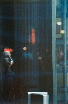 Saul Leiter - Watching 1952