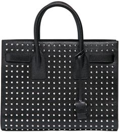 Love this  Small Sac De Jour Studded Leather Bag  Lyst Black Leather  Handbags, ec093c6b57