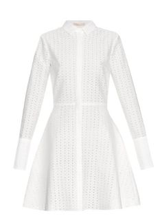 Daliah long-sleeved cotton-blend dress | Brock Collection | MATCHESFASHION.COM UK