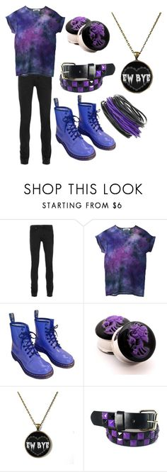 """Untitled #643"" by dino-satan666 ❤ liked on Polyvore featuring Topman and Dr. Martens"