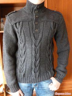 """""""Офицерский пуловер"""" для сыночка."""