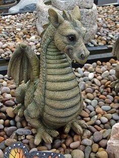 Dragon garden ornament