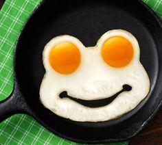 Funny Side Up Frog Egg Shaper R135