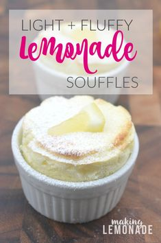 turn lemons to 'lemonade' with these delicious mini lemon souffles ...