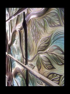 ceramic wall art tile by Natalie Blake
