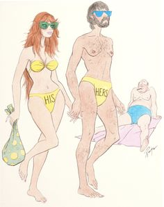 JOHN RUGE - His and Hers, Playboy - item by finer.ha