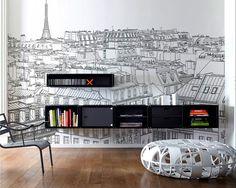Ilustración en Muro