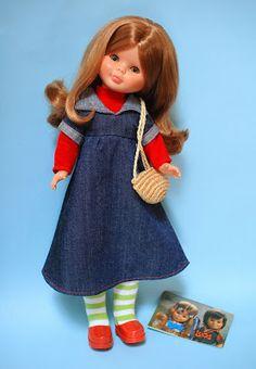 Ojos de Margarita: Nancy y sus conjuntos: Picadilly y Preu