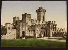 Sermion castle, near Lake Garda - Italy - Pixdaus