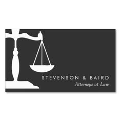 Attorney at law elegant leather gold scale lawyer business card justice scale attorney black and white business card reheart Choice Image