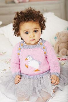 Penguin Sweaters in Deramores Baby DK (1024) - Digital Version