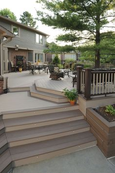 Stain on a deck will just persist for a few decades. Patio decks are normally made of wood and wood pallets. The deck has turned into a revered outdoo... Diy Deck, Patios, Patio Decks, Decks And Porches, Backyard Landscaping, Backyard Patio Designs, Pvc Decking, Composite Decking, Laying Decking