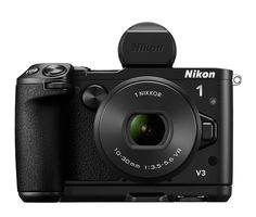 Nikon 1 Mirrorless Digital Camera with Lens Black Bundle with Micro SD Memory Card, Professional Full-Size 60 Inch Camera Tripod and Bag for DSLR Camera Tripod, Camera Nikon, Nikon 1, Nikon Mirrorless, Wi Fi, Improve Photography, Digital Photography, Camera Photography, Digital Cameras