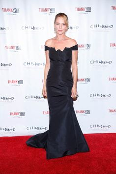 Uma Thurman attends World Childhood Foundation 16th Anniversary event on September 24, 2015 in New York City.