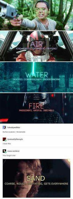 Star Wars | Rey | Anakin | Finn | Poe | Kylo Ren