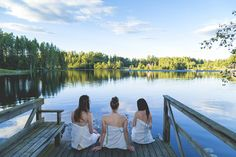 Cooling off in between sauna bathing offers you great scenery and is good for you. You can also hop into the water if there is a lake nearby. Outdoor Sauna, Beats, Bathing, Scenery, Saunas, Good Things, Cool Stuff, Water, Bath