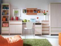 Numlock New Bedroom Set 1 desk wall mounted shelf tall display cabinet flat pack Bedroom Furniture Sets, Outdoor Furniture Sets, Outdoor Decor, Wall Mounted Shelves, Shelf, Corner Desk, Cabinet, Table, Inspiration