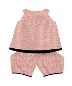 Another great find on #zulily! Pink Labyrinth Top & Pants - Infant by Redfish Kids #zulilyfinds