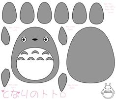 1000 Images About Totolly Totoro On Pinterest Totoro