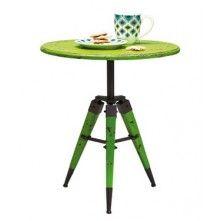 Kare Design Cavalletto Bijzettafel groen