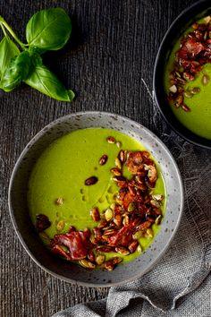 Spinach Recipes, Healthy Recipes, Soup Recipes, Keto Recipes, Cooking Recipes, Healthy Food, Drink Recipe Book, Brunch Menu, Vegan Keto