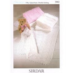 Shawls in Sirdar Snuggly 3 Ply, Quick Knit and DK (3982) £2.99