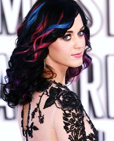 Katy Perry hair extensions