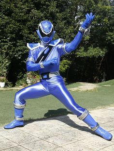 Power Rangers Art, Kamen Rider, Cosplay Costumes, Character Art, Anime, Actors, Superhero, Polaroid, Blue