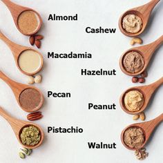 Make your own nut butters with this great nut butter primer at cookinglight.com