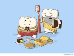 Why does my Sweet Tooth never listen to my Wisdom Tooth?