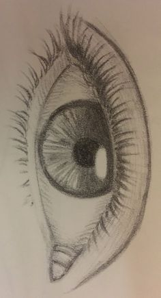 Art Sketchbook Inspiration Pencil – Art World 20 Cool Art Drawings, Pencil Art Drawings, Art Drawings Sketches, Sketches Of Eyes, Cool Simple Drawings, Eye Pencil Drawing, Beautiful Pencil Drawings, Simple Sketches, Portrait Sketches