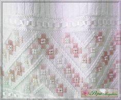 Resultado de imagen para ponto reto - toalha