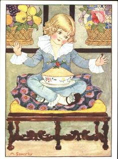 Millicent Sowerby (1878-1967)- Little Jack Horner Sat in a Corner Eating a Christmas Pie....