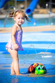 One of the cutest pictures taken at our spray parks. Think of 10 things that make children amazing!