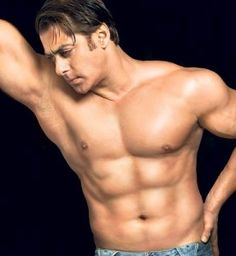 Salman Khan's six-pack.