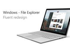 Podívejte se na můj projekt @Behance: \u201cFile Explorer - Fluent Design\u201d https://www.behance.net/gallery/53273659/File-Explorer-Fluent-Design