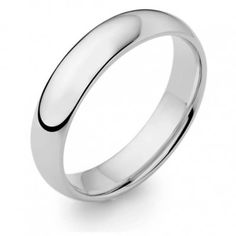 Mens White Gold D shape Wedding Ring weighing 5 grams approx Gold 375 hallmarked and made in the United Kingdom Weight 5 grams approx Width Depth Ring sizes M through to Q Platinum Wedding Rings, White Gold Wedding Rings, Yellow Gold Rings, Platinum Price, Platinum Metal, Wedding Ring Finger, Wedding Ring Bands, Cleaning Silver Jewelry, Keep Jewelry