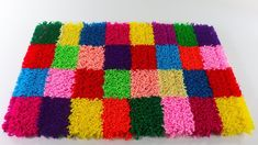 Rug without knitting, sewing and weaving – Rug making Rag Rug Diy, Sewing Crafts, Sewing Projects, Craft From Waste Material, Design Youtube, Diy Clutch, Painted Rug, Craft Work, Rug Hooking