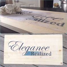 Elegance realized board Boards, Diy, Planks, Bricolage, Handyman Projects, Do It Yourself, Fai Da Te, Crafting, Diys