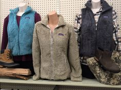 Patagonia fleece is perfect for Fall