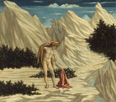 Domenico Veneziano - Saint John in the Desert