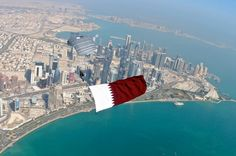Doha from Above. view on Fb https://www.facebook.com/SinbadsQatarPocketGuide  photo: Wyndham Grand Regency Doha Hotel #qatar