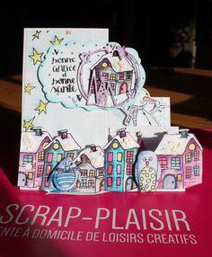 quelques créations sur le thème Hiver avec Scrap Plaisir ........