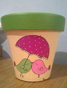 - USD im Mercado Libre, Flower Pot Art, Flower Pot Design, Clay Flower Pots, Flower Pot Crafts, Clay Pots, Paint Garden Pots, Painted Plant Pots, Painted Flower Pots, Painted Pebbles