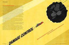 Damage Control, Editorial Illustration by SHOUT for Asset International ::: www.dutchuncle.co.uk/shout-images