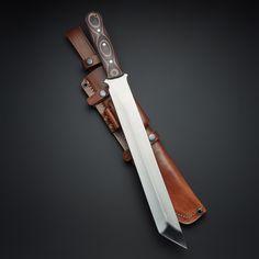 D2 Takeshi Micarta Short Tanto Sword Knife