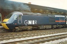 GNER 125 White Logo Electric Locomotive, Diesel Locomotive, Train Pictures, Electric Train, British Rail, Speed Training, Train Engines, Power Cars, Railroad Tracks