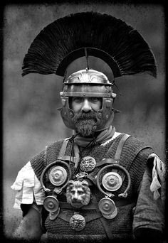 Roman legionary - reenactment